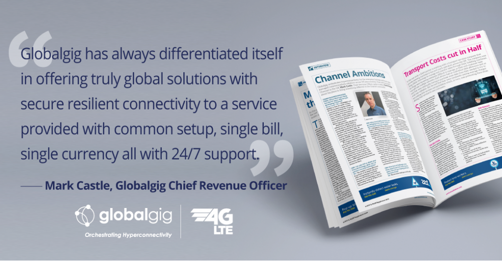 Mark Castle Interviews by Comms Business on Globalgig's New Channel Venture